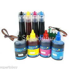 CISS & Ink Set Epson Workforce WF-3620 WF-3640 WF-7610 WF-7620 WF-7110 CIS