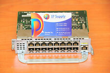 CISCO NME-16ES-1G-P Etherswitch Network Service Module w/16xFE+1xGE 6MthWtyTaxIn