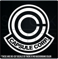 CAPSULE CORP DRAGONBALL Z CUTE FUNNY DECAL STICKER MACBOOK CAR WINDOW MOTORCYCLE