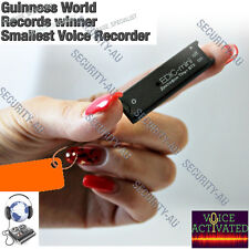 Digital Voice Recorder Edic Mini Tiny+ B73 Listening Device Activated No Spy MIC