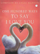 One Hundred Ways to Say I Love You,GOOD Book