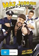 Maz Jobrani - Brown & Friendly (DVD, 2011)