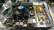 Intel G3220 Haswell 3ghz cpu, 4x 2gb ram, Asus B85M-G Motherboard 8GB RAM Combo
