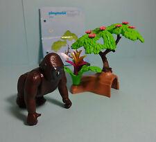 Playmobil Dschungel / Jungle ~ Gorilla / Silberrücken & Anleitung / Manual(3039)