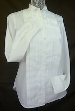 THOMAS MASON for J. CREW WOMEN'S COTTON TUXEDO SHIRT WHITE SIZE 6 Retail $158