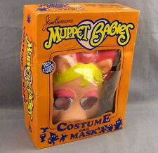 Miss Piggy Muppet Babies Halloween Costume Ben Cooper 6-8 Kids 1985 Original Box