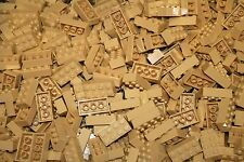 200 TAN 2x4 Building blocks, Compatible to Lego 2x4 Bricks 3001 Bulk Lot Deal!