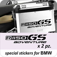 2 Adesivi Stickers BMW R 1150 gs valigie adventure R GS
