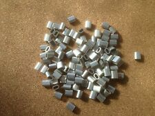 20x Aluminium Talurit Ferrules for 1.5mm / 2mm Steel Wire Rope Stainless Rigging