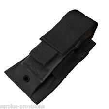 Condor MA32 Single Pistol Mag Pouch Black - Tactical clip Molle