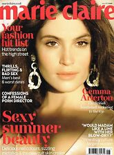 MARIE CLAIRE UK 06/2013 GEMMA ARTERTON Nicki Minaj JOSILYN WILLIAMS Yoko Ono NEW