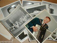 Lawrence Welk Show Vintage Autograph Photo Lot Myron Floren Alice Lon Dick Dale
