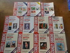 Collection 11 Stanley Gibbons Collect British Stamps 2008/6/5/4/3/2/1/0 1998/7