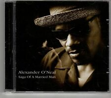 (GT541) Alexander O'Neal, Saga Of A Married Man - 2002 CD