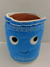 "Kidrobot Yummy Desserts Coffee Cup Hot Chocolate 8"" Blue Stuffed Plush"