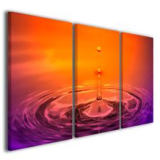 Quadri su canvas Drops arte digitale design moderno tele moderne quadro pronto