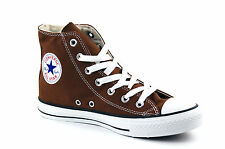 WOMENS CONVERSE CHUCK TAYLOR ALL STAR HI TOPS - UK SIZE 4 - CHOCOLATE.