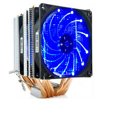 90mm Dual Red LED Fan CPU Cooler 6 Heat pipes for Intel  AMD CPUS Intel LGA