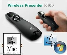 Logitech R400 Wireless Office Remote Presenter Red Laser Pointer MAC MacBook Pro