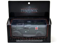 1937 STUDEBAKER ARMY AMBULANCE VAN WITH DISPLAY CASE 1:43 BY PHOENIX MINT 18376