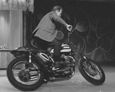 Evel Knievel & Triumph motorcycle jet engine photo 2