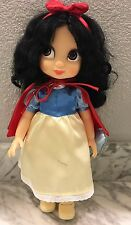 Disney Animators' Collection Snow White Doll with Bluebird - 16'' Good Condition