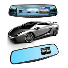 "2.8"" Full HD 1080P Auto Car DVR Rearview Mirrors Camera Video Recorder Dash Cam"