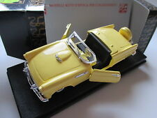 FORD Thunderbird Cabriolet Continental Kit (1956) in Giallo Yellow, Rio 1:43 OVP!