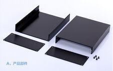 """Aluminum enclosure electric split box case 125(4.92"""")X51(2"""")X160(6.3"""")mm DIY NEW"""