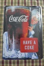 Coca Cola Break Tin Metal Sign Painted Poster Wall Art Office Hobby Shop Pub
