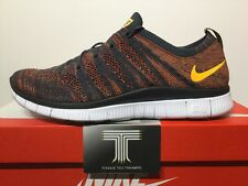 Nike Free Flyknit NSW ~ 599459 008 ~ Uk Size 7