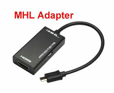 11pin MHL to HDMI TV Cable Adapter for Samsung Galaxy S3 S4 S5 Note 2 3 4 Edge