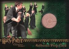 Harry Potter Sorcerers Sorcerer's Stone Practice Broom Prop Card