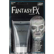 Monster Grey Mehron Fantasy FX Water Base Paint Body Face Makeup Cream Gray