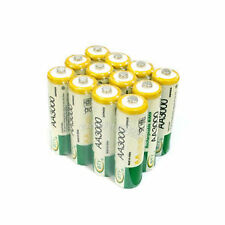 10 pcs AA LR06 3000mAh 1.2V NI-MH rechargeable battery CELL/RC 2A BTY Green SP