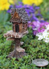 Miniature Itty Bitty Tree Club House 1197 Dollhouse Fairy Garden