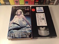 The Suicide's Wife Rare TV Movie Drama VHS 1979 Angie Dickinson Peter Donat OOP