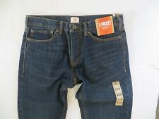 NWT men Dockers Straight Fit Blue Jeans 32 x 34