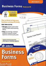 Professional Company Business Log Accounting Invoice 70 Forms Software CDROM
