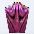 12 Paint Brush Set for Oil Watercolor Acrylic Artist Painting Art Craft