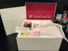 American Girl Kit's Birthday Party Glassware set RETIRED NEAR COMPLETE GR8T Cond