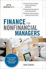 Finance for Nonfinancial Managers, Second Edition (Briefcase Books Series), Sici
