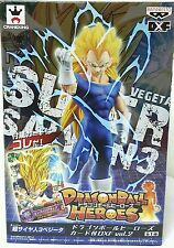 DRAGON BALL Z DXF BANPRESTO HEROES VEGETA SS3 FIGURE SSJ3 NEW