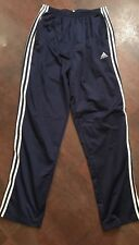 Men's ADIDAS Dark Blue Side Snap Athletic Track Warm Up Pants Size XXL