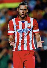 Mario SUAREZ Signed Autograph 12x8 Photo Athletico Madrid Football AFTAL COA