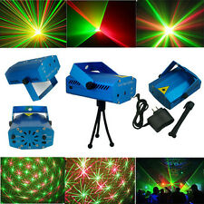 New Hot Projector R&G DJ Disco Light Stage Xmas Party Laser Lighting Show DJ-BL