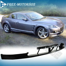 FOR 04-07 MAZDA RX8 OE STYLE FRONT BUMPER LIP SPOILER BODY KIT JDM PU