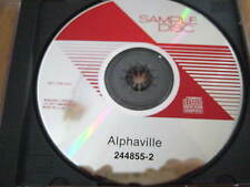 Rare US Promo CD Alphaville ‎– The Breathtaking Blue - Klaus Schulze Marian Gold