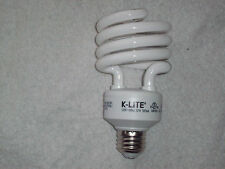 K-LITE Energy Saving 32 Watt =125 Watt Warm White Bulb 10X Lasts up to 9 yrs