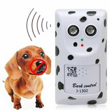 New Ultrasonic Anti Stop Dog Barking Bark Stopper Control Trainer Indoor Outdoor